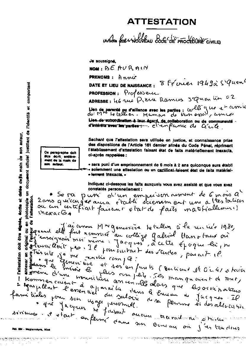 exemple de cv manuscrit Quand la Reine Mère se vantait de protéger la criminalité féminine. exemple de cv manuscrit