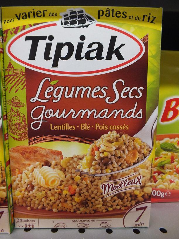 lentilles et blé