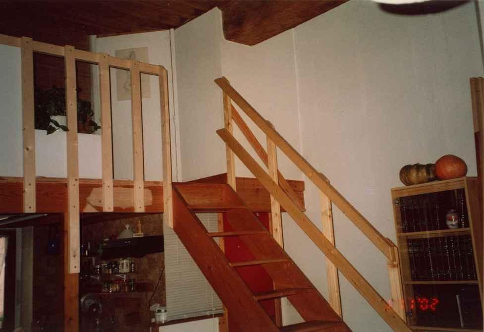 rampe d'escalier e rembarde