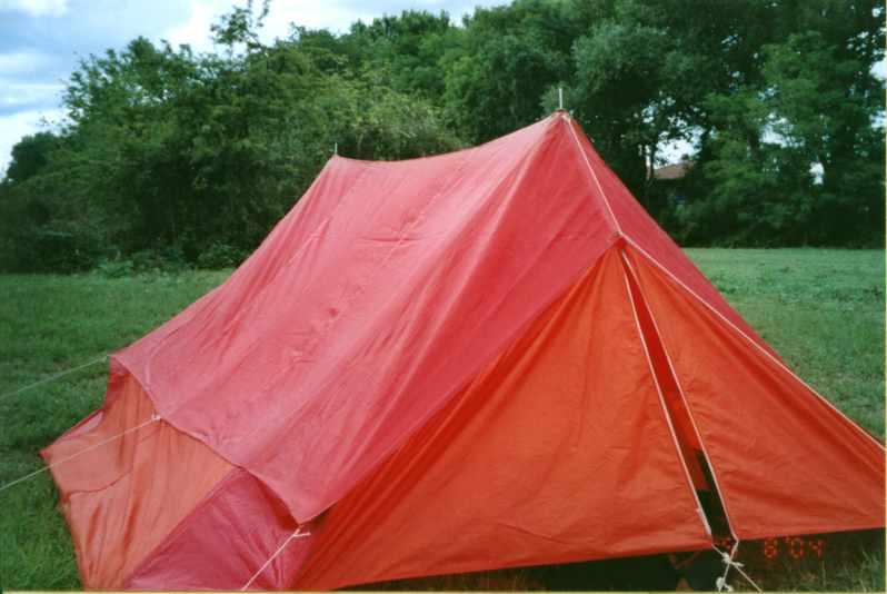 La tente suédoise transformée en semi-isothermique.